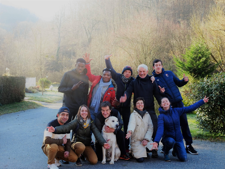 Chantier de remobilisation au Mas d'Azil : «Vivre et Faire Ensemble»