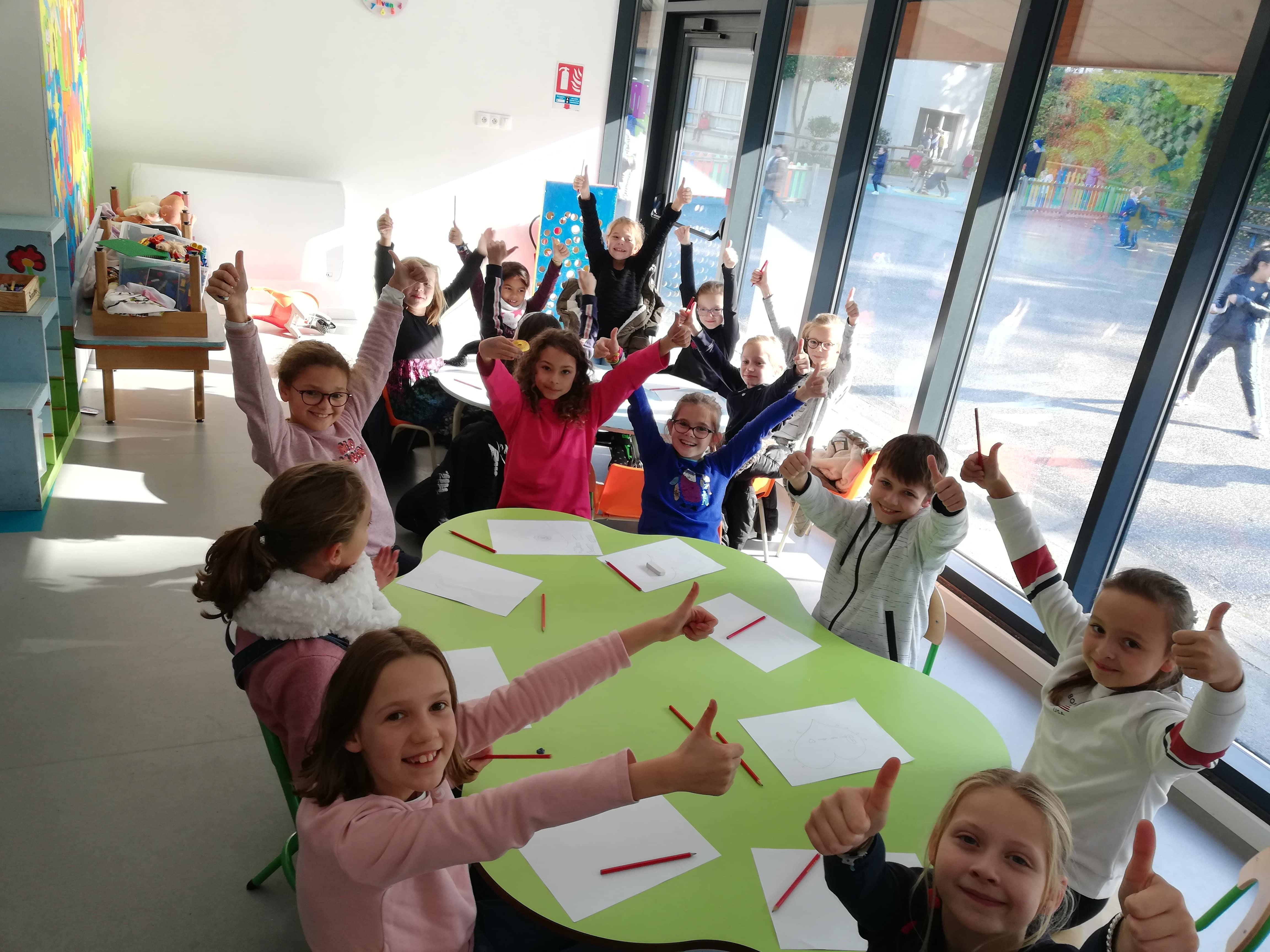 Bilan de notre année au Cours de Sacré Cœur (Caen)