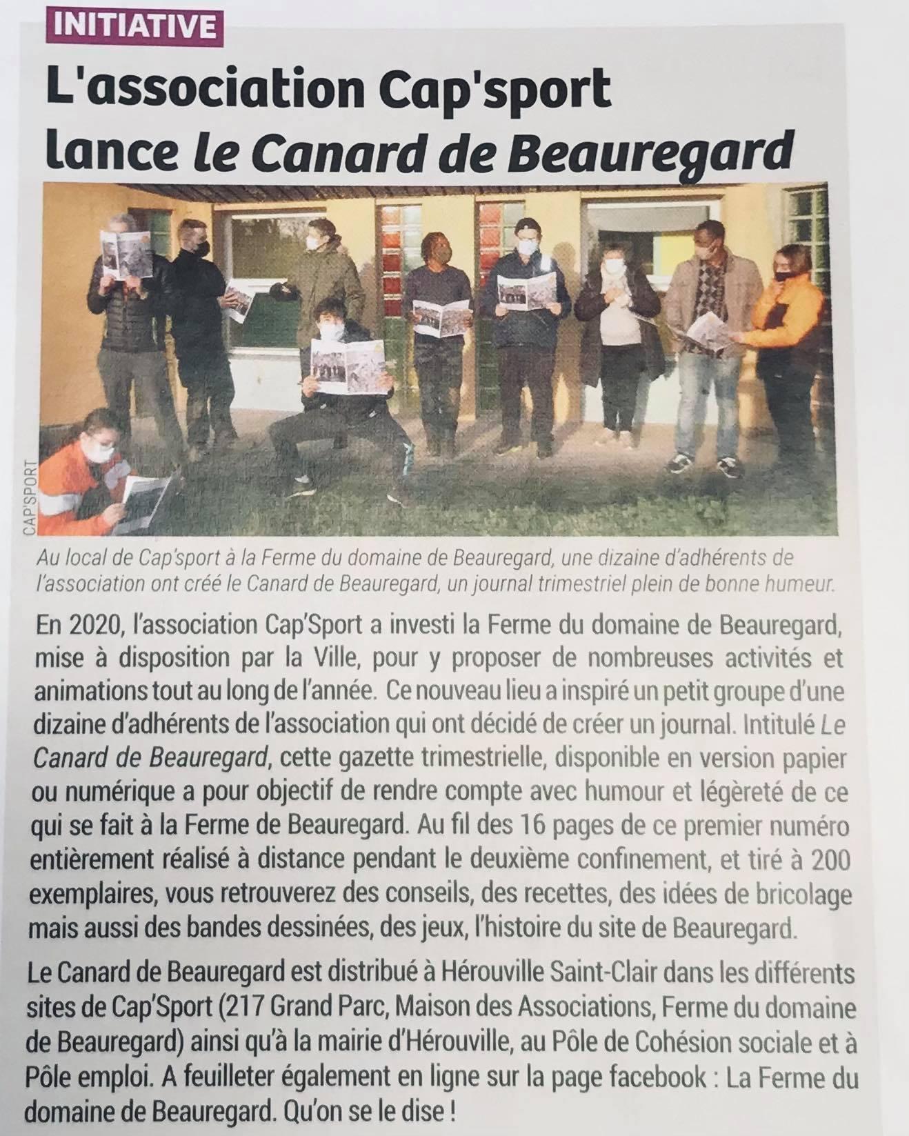 Gazette - Domain de Beauregard