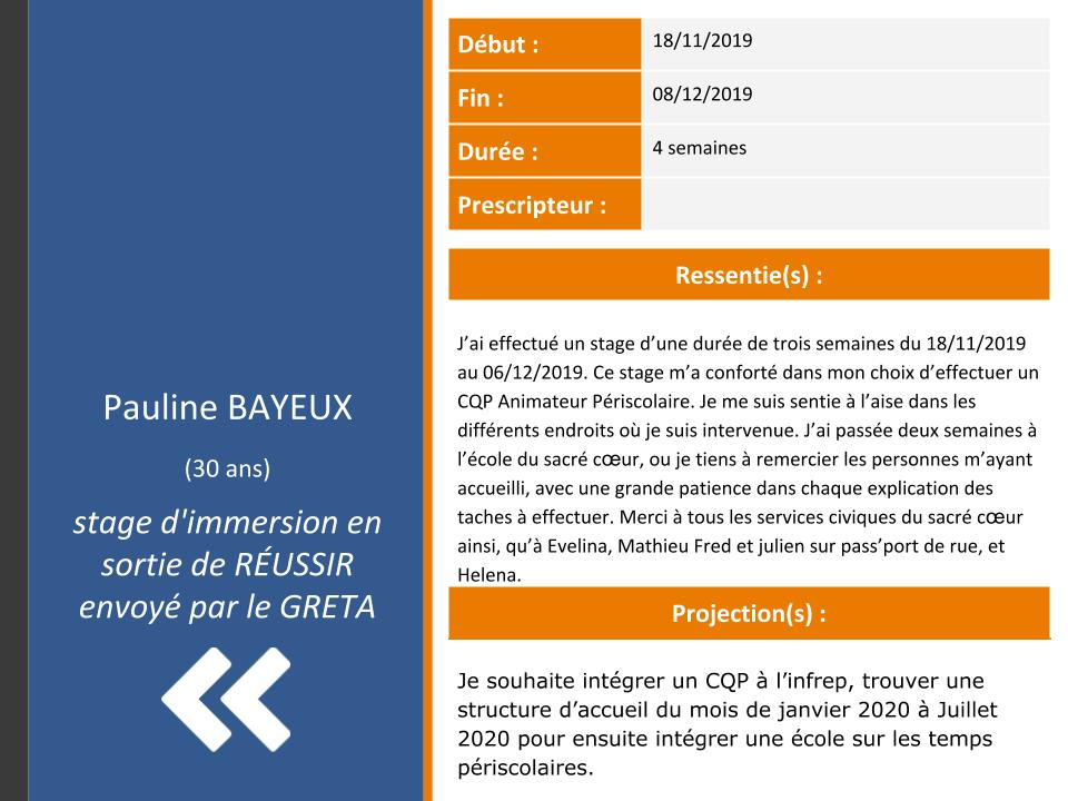 Pauline Bayeux